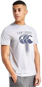 Canterbury shirt hoop herrington tee - pale grey marl par 9i9i9,i9i9i,i9i9i9