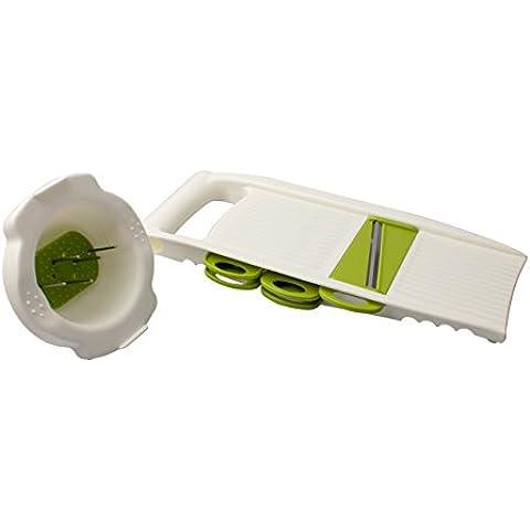 Cozytek frutta/verdura affettatrice Chopper multifunzione 5 in 1 Regolabile affettatrice