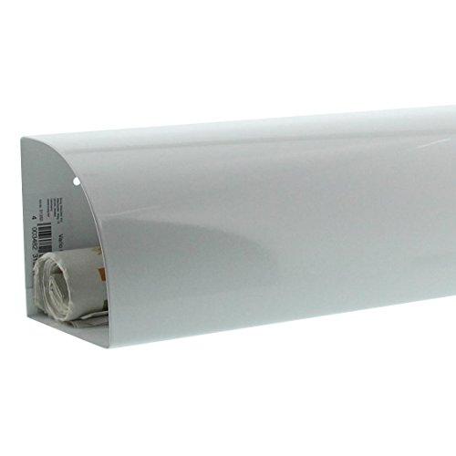 BURG-WÄCHTER, Zeitungsbox, Beidseitig verwendbar, Metall,Vario 820 W, Weiß - 4