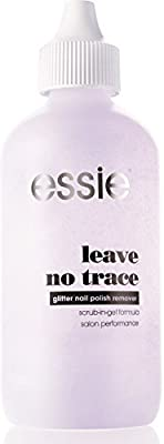 Essie Nail Polish Remover Leave No Trace/Top Coats with Glitter Remover