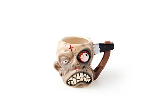 unidos Entertainment Zombie Taza, de plástico, color beige