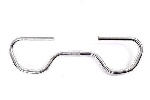 Fahrrad Trekking Multifunktions Lenker ergonomisch bequem Lenker Bügel Ø 25,4 mm silber