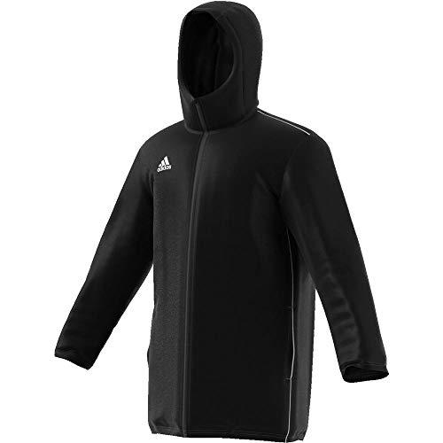 adidas Core18 Std Jkt Sport Jacket, Hombre, Black/White, XL