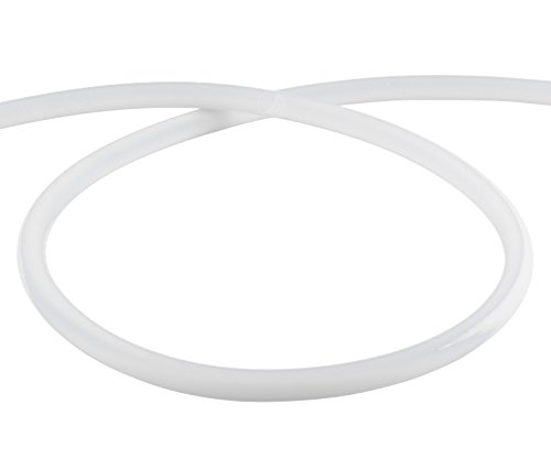 AMY Deluxe Shisha Silikonschlauch matt - weiß | 150 cm