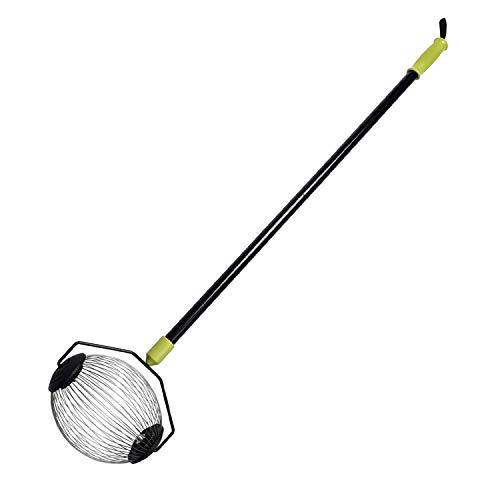 Fruchtsammler Metallkorb (kleine Größe) Nut Gatherer Long Griff Werkzeug zum Sammeln von Tennis Golfbälle - ORINETOOLS -