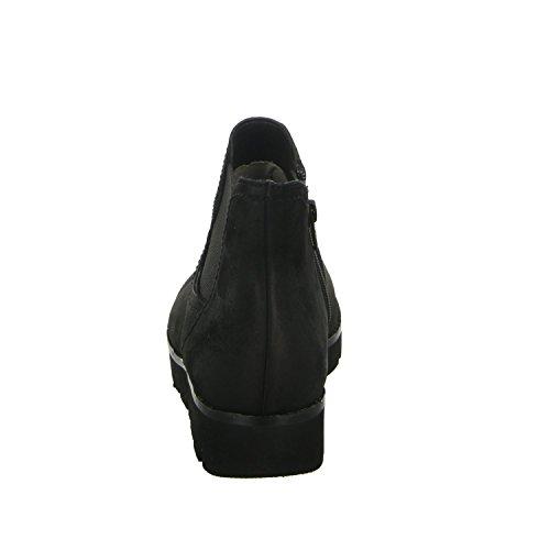 Gabor 32.581.47 femme glissement/reißverschlussstiefelette kaltfutter sportif de fond Noir - Noir