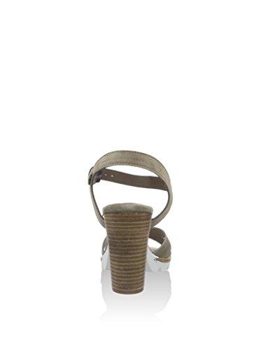 Cafénoir Cafenoir Xl622 Sandale Talon Femme Gris Souris