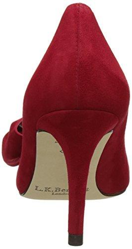 Lk Bennett Damen Caitlyn Pumps Rot (rosso Roca)