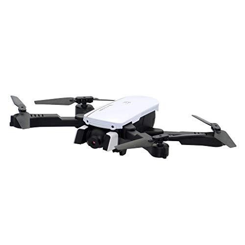 Glowjoy 1808 RC Mini drone per bambini e principianti, drone quadricottero con altezza, drone giocattolo per bambini, elicottero radiocomandato FPV quadricottero, avviamento a un tasto e Paesi, Bianco