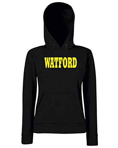 T-Shirtshock - Sweats a capuche Femme WC0734 WATFORD Noir