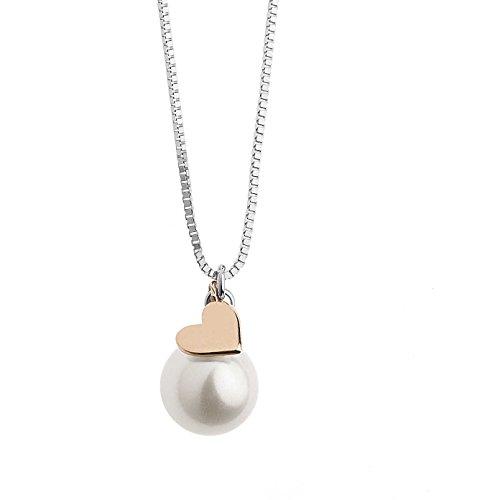 collana donna gioielli Comete Fantasie di perle elegante cod. GLP 476