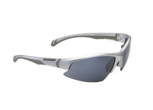 Swiss Eye Flash - Gafas de ciclismo, talla única, color argent mat