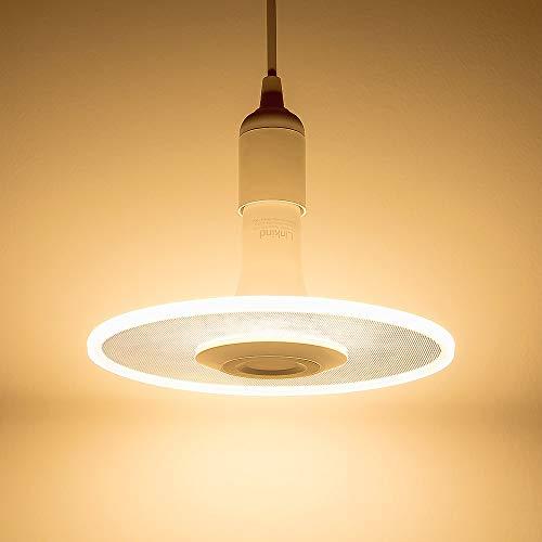 Sternwolk LED Pendel Leuchte, Linkind 11W Lampebirne, 1100lm warmweiß Hängende Beleuchtung, geeignet für E27 Fassung, ideal Designerlampe für Küche, Esstisch, Wohnzimmer, Laden. -