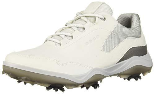 Ecco Golf 2018 Gore-Tex Strike Pelle Impermeabile Uomo Scarpe da Golf (Bianco) - Bianco, 44 M EU (10-10.5 US)