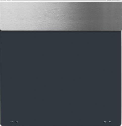Frabox Design Briefkasten NAMUR Anthrazitgrau / Edelstahl - 2