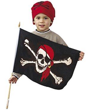 30 x 40 cm (Piraten Flagge)