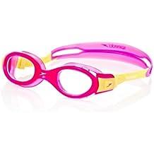 Speedo Futura Biofuse Gafas de Natación, Unisex Niños, Rosa (Pink / Yellow), Talla Única