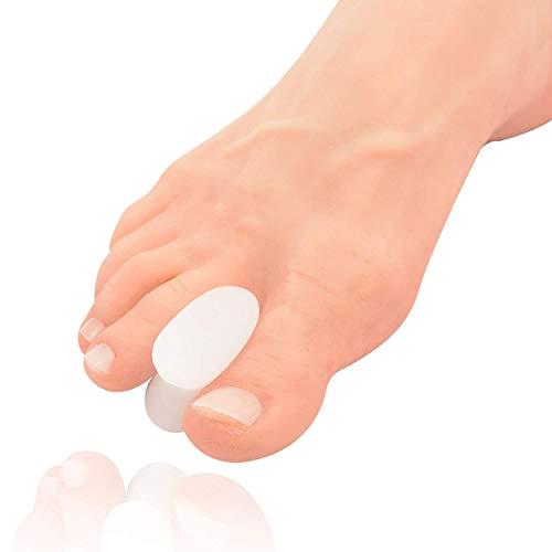 Dr. frederick's original -separatori in gel per le dita dei piedi - 6 pezzi – confezione mista – trattamento per calli – formato small, medie e large