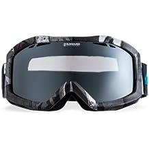 Quiksilver Snowboardbrillen Fenom Art Mirror - Gafas de esquí, color gris, talla Talla única