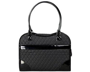 Exquisite' Handbag Fashion Pet Carrier, One Size, Black 2