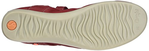 Softinos Val363sof Lisse, Ballerine Donna Rosso (rosso)