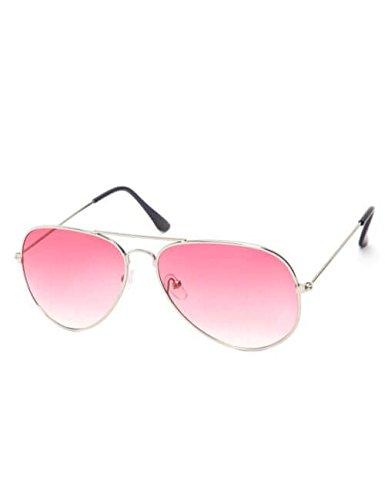 habbana carrie pink aviators sunglasses