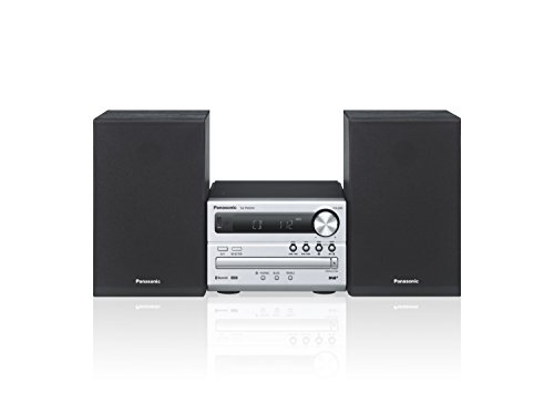 Panasonic SC-PM254EG-S Micro- mit HiFi-System (Bluetooth, DAB+, CD, UKW , 20 Watt RMS) silber
