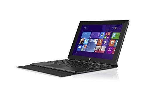 TrekStor SurfTab wintron 10.1 pure 3G (10.1 Zoll (25,7 cm) Windows-Tablet mit Intel Inside, Tastaturtasche, 3G-Funktion, 1,83 GHz, 32 GB Speicher, 2 GB RAM, Windows 8.1 mit Bing, Office 365 Personal 1-Jahres-Abo, HD IPS-Display, USB 2.0, Micro-USB, Bluetooth, WLAN, Mini-HDMI, Speicherkartenleser) schwarz