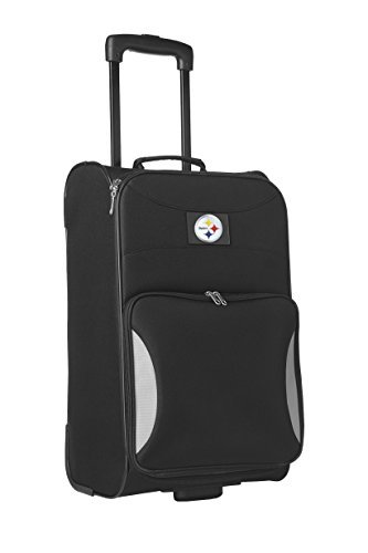 nfl-pittsburgh-steelers-steadfast-upright-carry-on-luggage-21-inch-black-by-denco