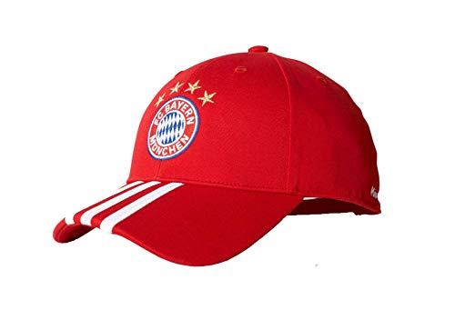 Adidas Bayern de Munich 3S Gorra, Hombre, Rojo (Rojfcb), OSFY