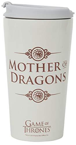 Taza de viaje Madre de dragones, Juego de tronos (metálica)