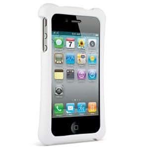 Built NY Coque ergonomique &rigide pour Apple Iphone 4S Blanc