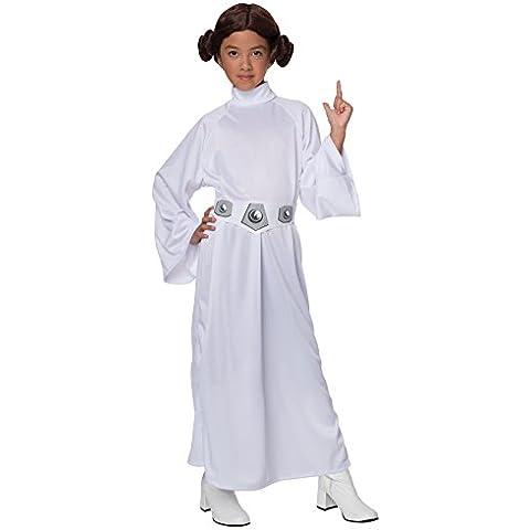 Disfraz de Princesa Leia - Tamaño Pequeño 3-4 Años