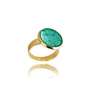 Aquamarin Blauer Kleiner Ring Elegantes Geschenk für die Dame