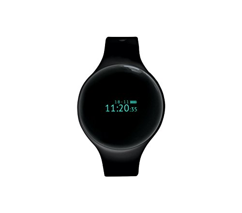 Smart Activity Watch Techmade TM - FREETIME NERO con bluetooth resistente all'acqua. MEDIA WAVE store