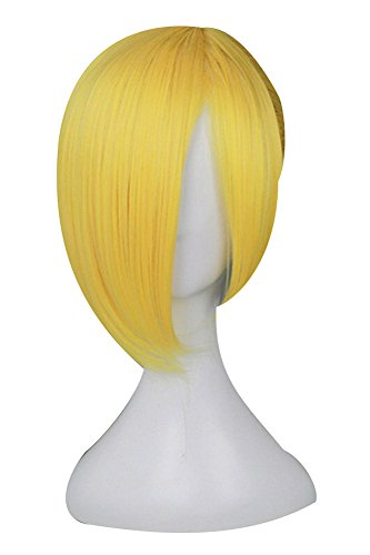 Fuman Shingeki no Kyojin Attack on Titan Annie Leonheart Blond Cosplay Perücke