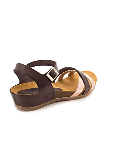 Yokono Sandale 006 CAPRI Brown Dark Skin Marron