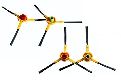 2pares Cepillos laterales para el Ecovacs Deebot Slim, Marvel
