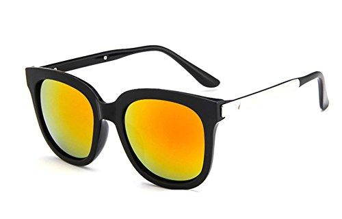 Wer Bin Ich Eine Zeitlose Art Und Weise Retro-Sonnenbrille Metallbeine Multicolor Optional,Red