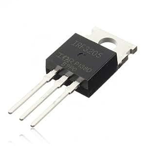 Obsidian - canal N FET IRF3205 MOSFET de puissance 110A 55V 8M ?