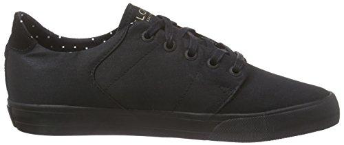 Globe Los Angered Low Unisex-Erwachsene Sneakers Schwarz (Black)