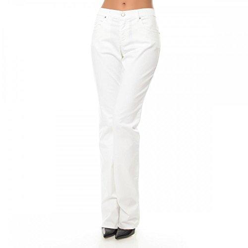 Versace Jeans Donna Pantaloni EA1HLB0RAE Weiß