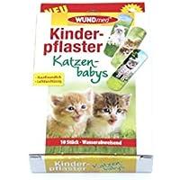 WUNDmed Kinderpflaster Katzen 10 Stück wasserabweisend preisvergleich bei billige-tabletten.eu