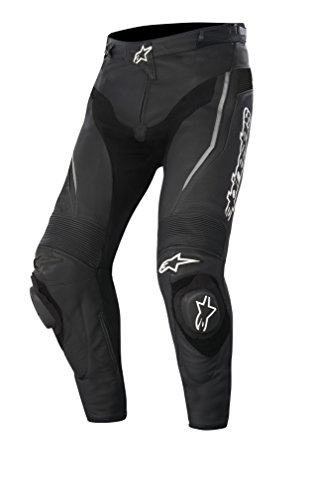 Alpinestars Track Motorradlederhose 15, Farbe schwarz, Größe 50