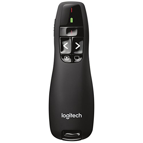 Logitech Wireless Presenter R400 USB Cordless Timer (Cordless Wireless Usb)