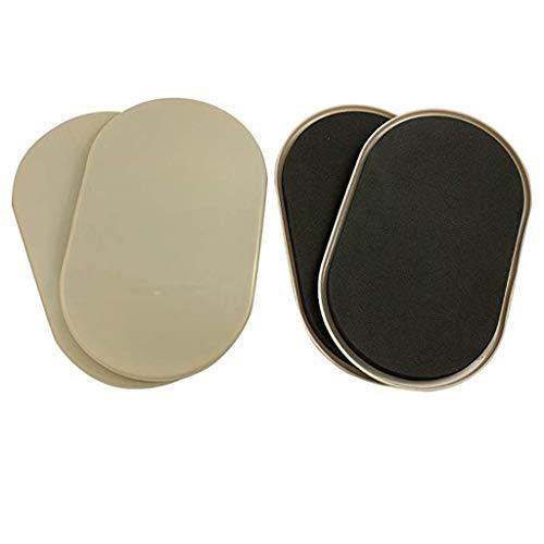 Altsommer Furniture Sliders Kit, Verwendbare Schwere Möbel Ovale für Teppiche Bewegen Sie Schnell und Einfach Jedes Objekt für Gleitscheiben zum Bewegen von Möbeln - 4PC -