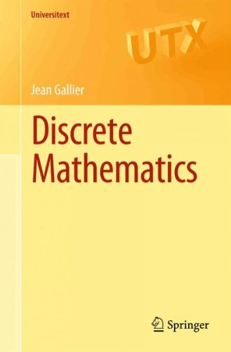 (Discrete Mathematics) By Gallier, Jean (Author) Paperback on (01 , 2011)
