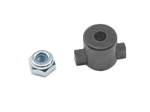 Aluminiumkugel diff Mutterhalter (schwarz) TRF415 / TA-05 fur STA-27HBK