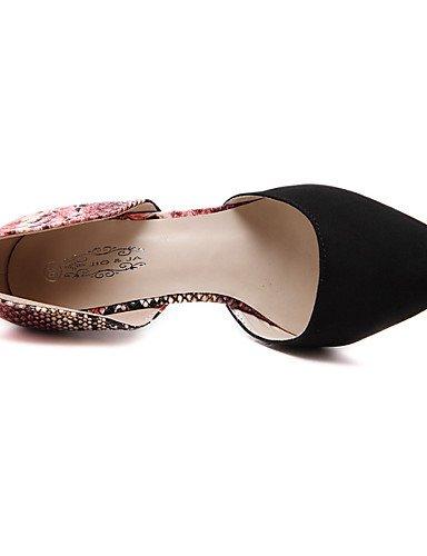 LFNLYX Chaussures Femme-Mariage / Habillé / Décontracté / Soirée & Evénement-Noir / Rouge-Talon Aiguille-Talons / Confort / Nouveauté / Bottes à Red