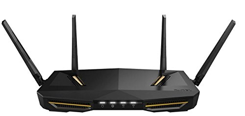 Zyxel Armor Z2 AC2600 MU-MIMO Wireless Router für Spiele und Medien mit StreamBoost und Antennen mit Beamforming-Technologie [NBG6817]